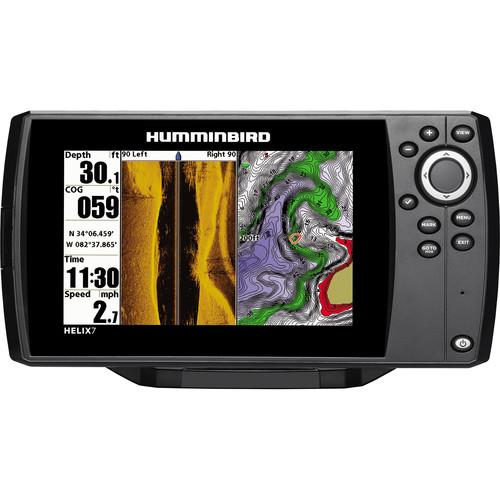 user manual humminbird helix 7 di gps fishfinder 409830-1 | pdf, Fish Finder