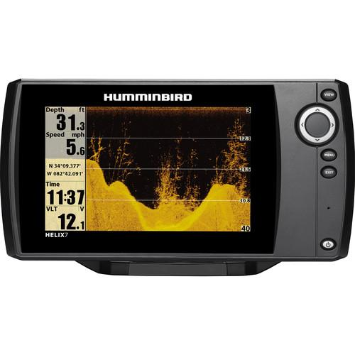 user manual humminbird helix 7 si gps fishfinder 409850-1 | pdf, Fish Finder