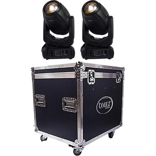 OMEZ TitanBeam 10R Moving Head Beam LED Fixture with Dual OM325