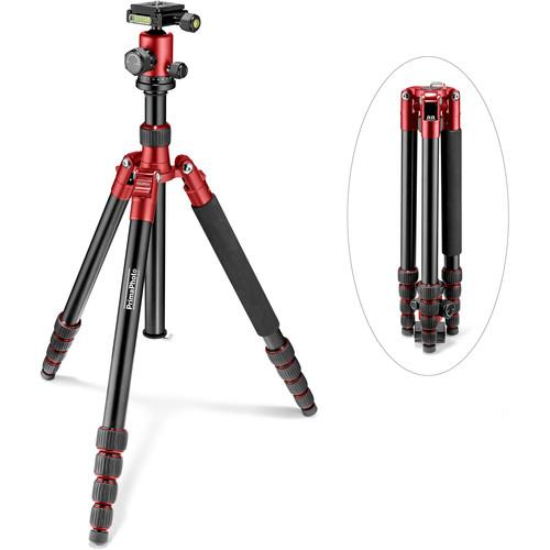 Prima Photo  Big Travel Tripod (Red) PHTRBRD
