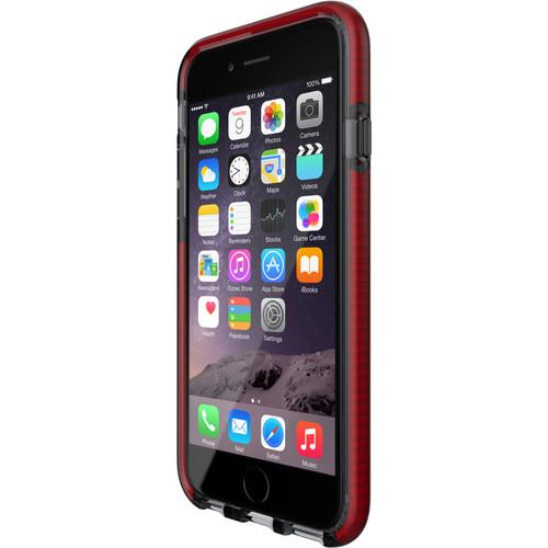 Tech21 Evo Mesh Case for iPhone 6/6s (Smokey/Red) T21-5009