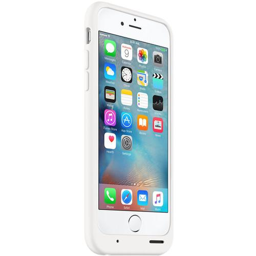 Apple iPhone 6/6s Smart Battery Case (White) MGQM2LL/A