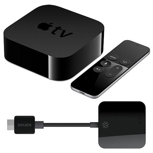 Kanex Apple TV (64GB, 4th Generation) with HDMI to VGA Adapter