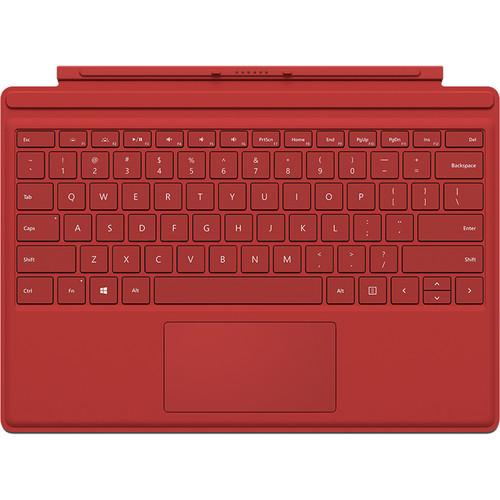 Microsoft Surface Pro 4 Type Cover (Red) QC7-00005