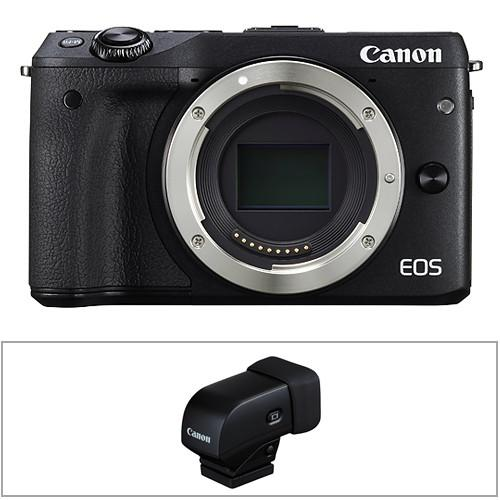 Canon EOS M3 Mirrorless Digital Camera with 18-55mm and