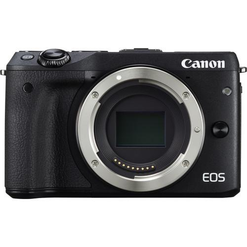 Canon EOS M3 Mirrorless Digital Camera with 18-55mm Lens Deluxe
