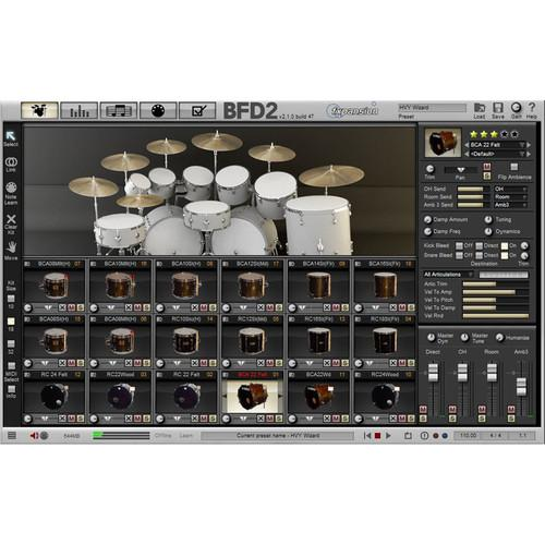 FXpansion BFD Jazz Maple - Expansion Pack for BFD3, BFD FXJZM001, FXpansion, BFD, Jazz, Maple, Expansion, Pack, BFD3, BFD, FXJZM001