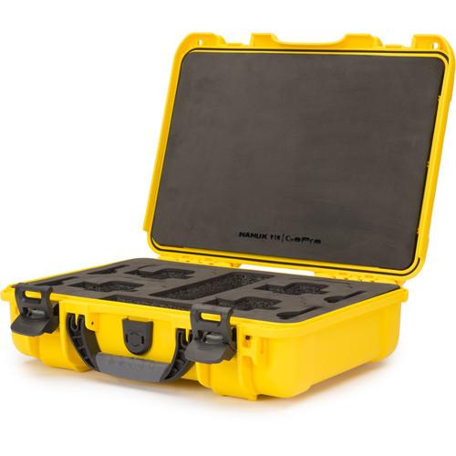 Nanuk 910 GoPro Case with Foam Insert for GoPro Series 910-GOP1