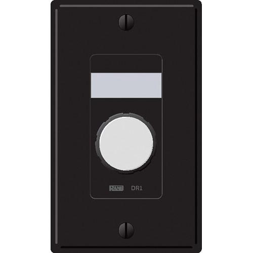 Rane DR1 Zone Output Volume Remote Control (Black) DR1B