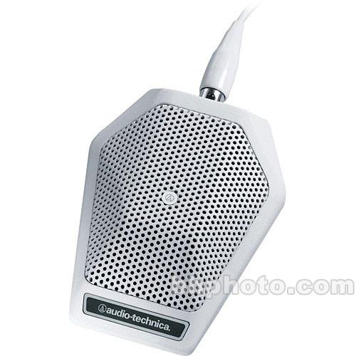 Audio-Technica U851RW Cardioid Boundary Microphone (White)