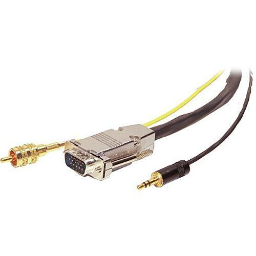 Comprehensive VGA Male, 1 RCA, & 1 Stereo VGA15P-R-MPS-100HR, Comprehensive, VGA, Male, 1, RCA, &, 1, Stereo, VGA15P-R-MPS-100HR
