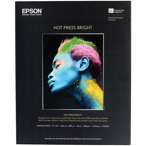 Epson Hot Press Bright Smooth Matte Paper S042331