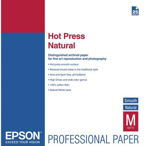 Epson Hot Press Natural Smooth Matte Paper S042321