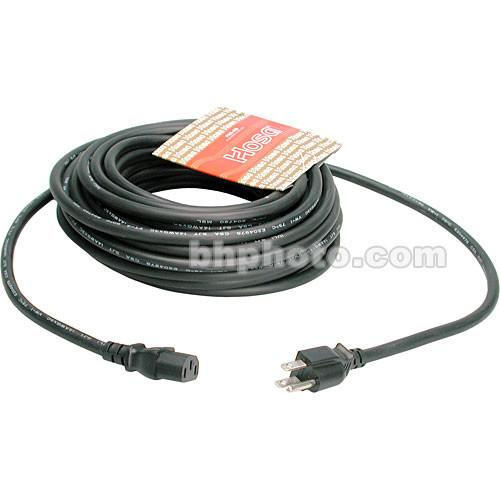 Hosa Technology Black Extension Cable w/ IEC Female - 50'