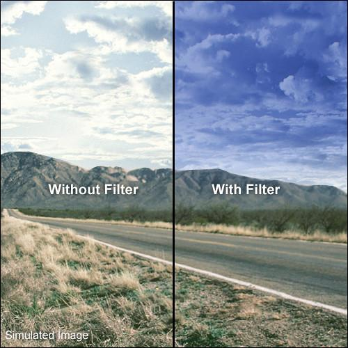 LEE Filters 100 x 150mm Soft-Edge Graduated Pop Blue Filter PBGS