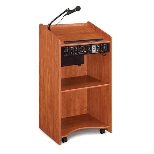 Oklahoma Sound Aristocrat Floor Lectern with Sound 6010-MY