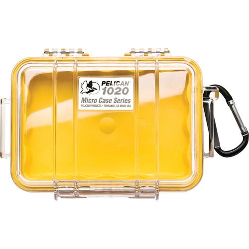 Pelican 1020 Micro Case (Clear Yellow) 1020-027-100