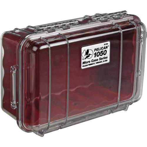 Pelican 1050 Clear Micro Case (Black) 1050-025-100