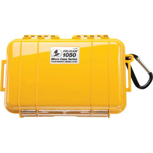 Pelican 1050 Solid Micro Case (Yellow) 1050-025-240