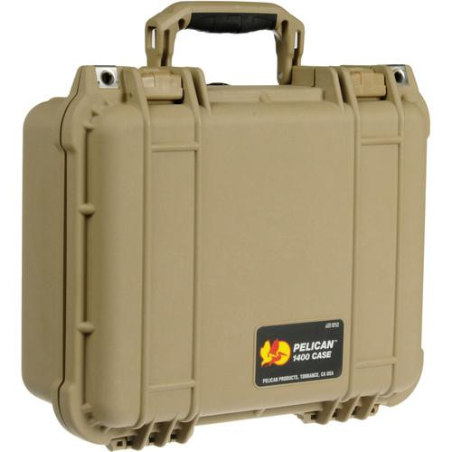 Pelican 1400NF Case without Foam (Desert Tan) 1400-001-190
