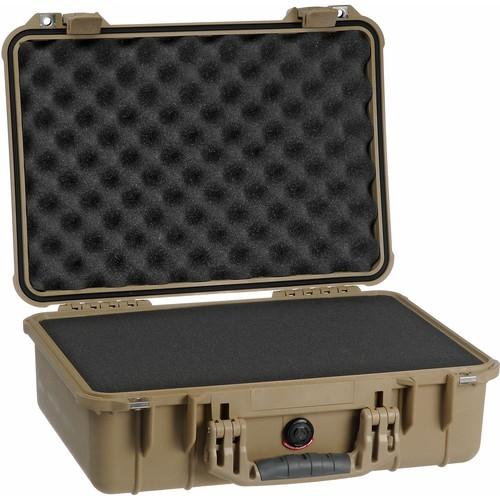 Pelican 1500 Case with Foam (Desert Tan) 1500-000-190