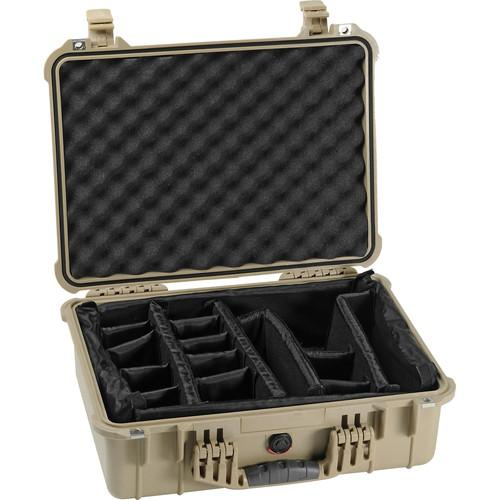 Pelican 1524 Waterproof 1520 Case with Padded 1520-004-190