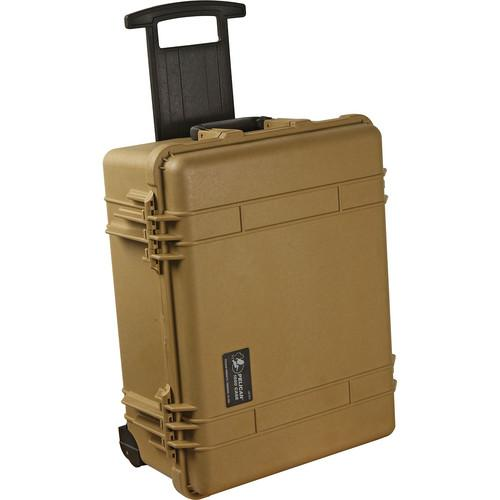 Pelican 1560NF Case without Foam (Yellow) 1560-001-240
