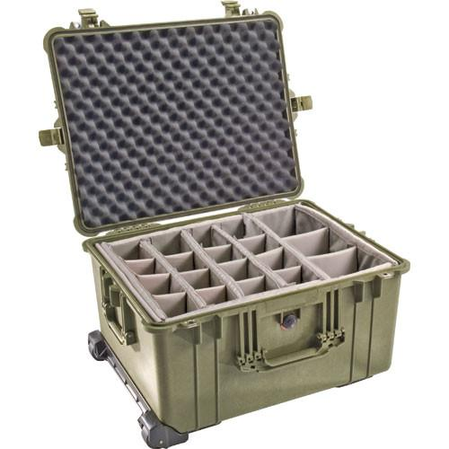 Pelican 1624 Waterproof 1620 Case with Dividers 1620-024-190