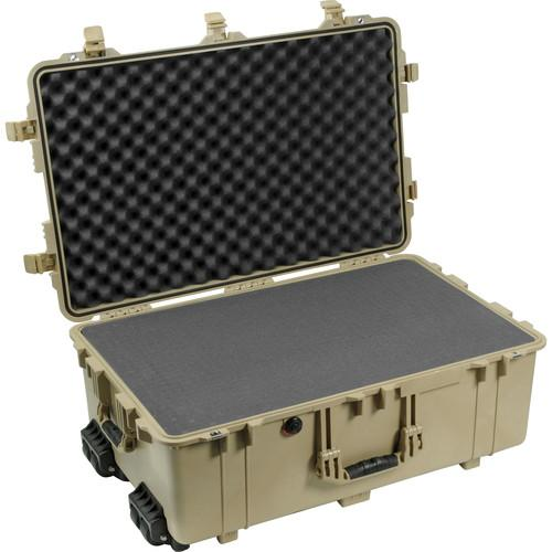 Pelican 1650 Case with Foam (Desert Tan) 1650-020-190