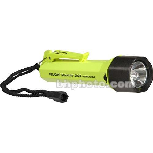 Pelican Sabrelite 2000 Flashlight 3 'C' Xenon Lamp 2000-010-150