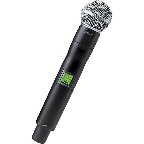 Shure UR2 Handheld Wireless Microphone Transmitter UR2/SM58-J5