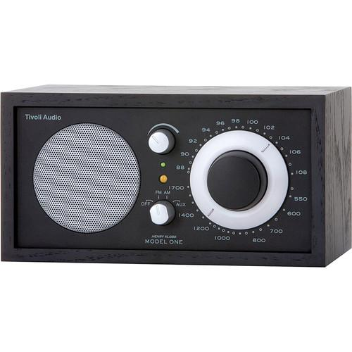 Tivoli Model One AM/FM Table Radio (Black Ash / Black) M1BBS