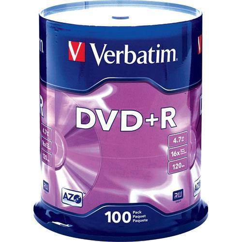 Verbatim  DVD R 4.7GB 16x Disc (25) 95033