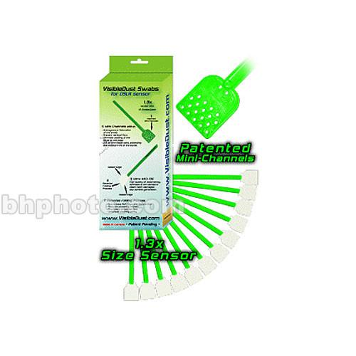 VisibleDust Swabs for 1.3x Sensor - Green Series 2863173