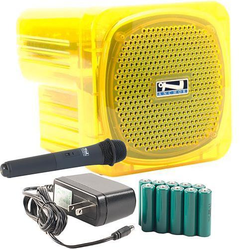 Anchor Audio AN-Mini Deluxe Package (Yellow) - AN-MINIDP YEL HH