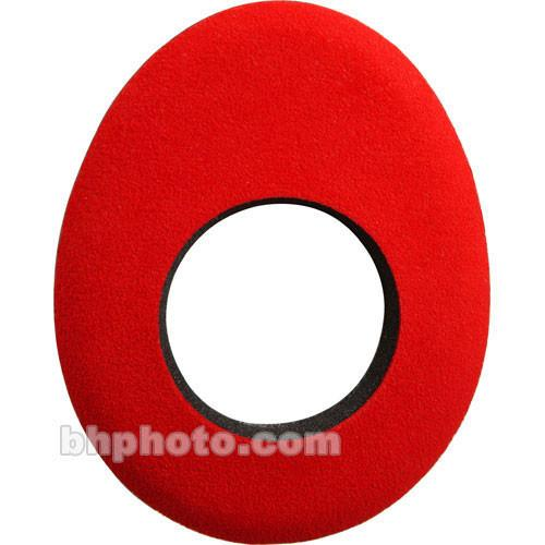 Bluestar Oval Long Microfiber Eyecushion (Red) 90122
