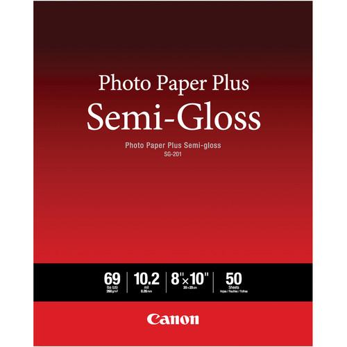 Canon SG-201 Photo Paper Plus Semi-Gloss 1686B014