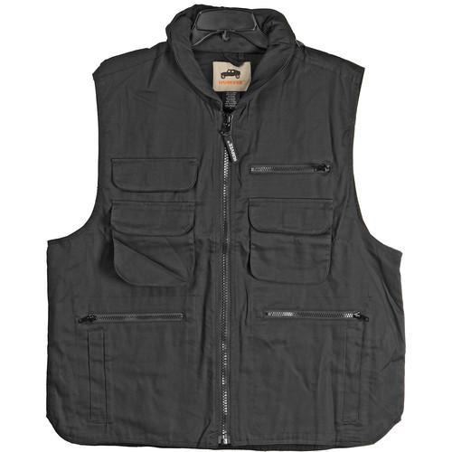 Humvee by CampCo Ranger Vest - Medium (Black) HMV-VR-BK-M