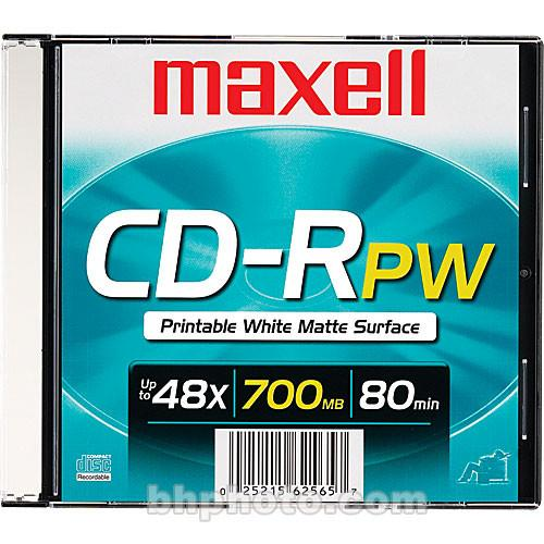 Maxell  CD-R 700MB White Inkjet Disc 648721