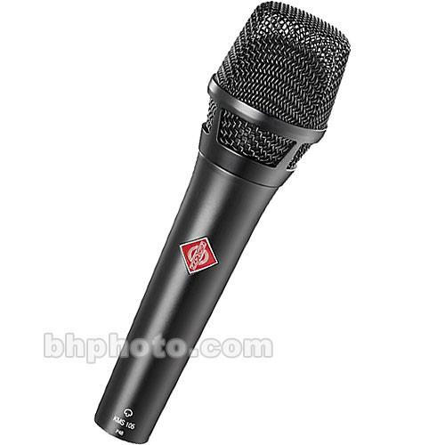 Neumann KMS104 - Handheld Stage Mic (Black) KMS 104 MT
