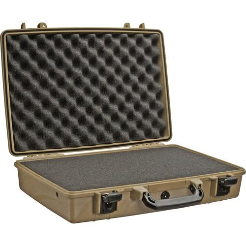 Pelican 1490 Attache/Computer Case with Foam 1490-000-190