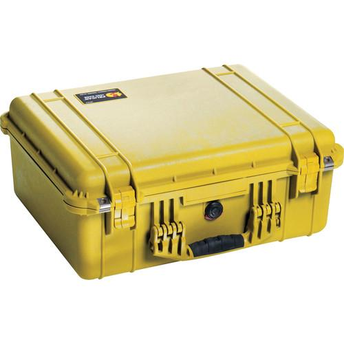 Pelican 1550NF Case without Foam (Orange) 1550-001-150