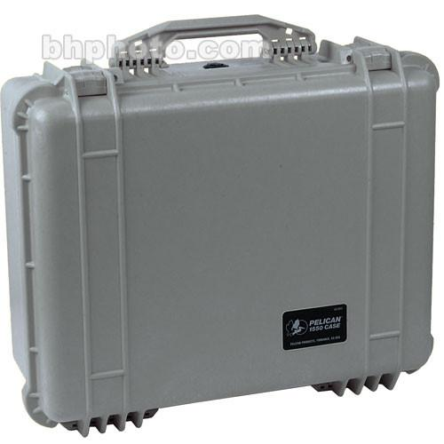 Pelican 1550NF Case without Foam (Silver) 1550-001-180