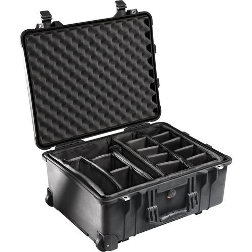 Pelican 1564 Waterproof 1560 Case with Dividers 1560-004-110