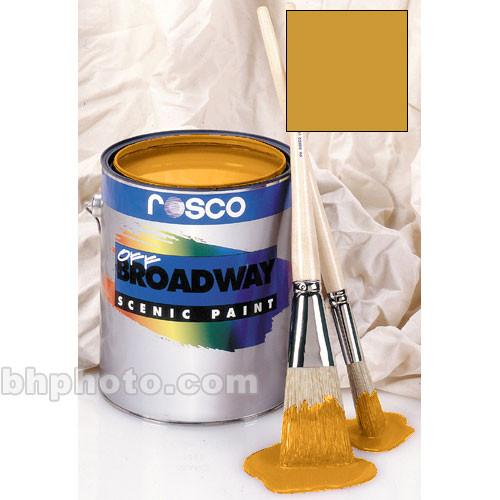 Rosco Off Broadway Paint - Bright Gold - 1 Gal. 150053830128