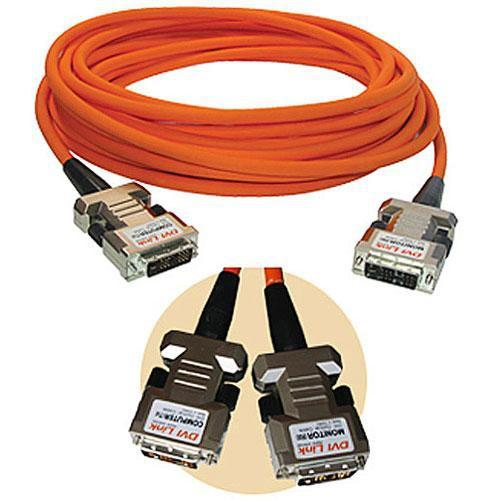 RTcom USA DVIOC010 Fiber Optic DVI-D Cable (10 m) OC-010