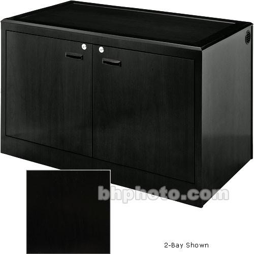 Sound-Craft Systems 3-Bay Equipment Credenza - CRDZ3BVRO