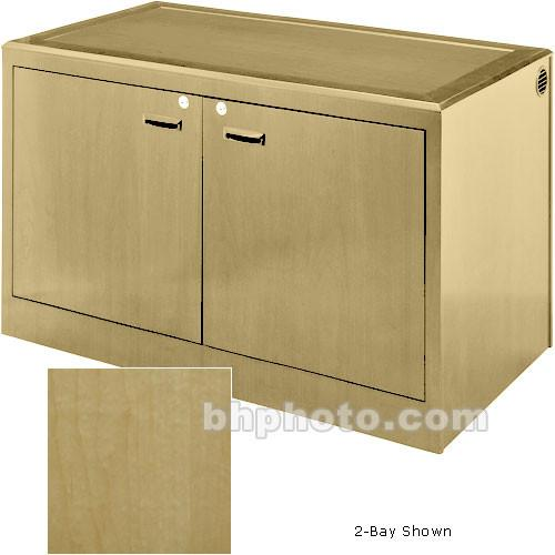 Sound-Craft Systems 4-Bay Equipment Credenza - CRDZ4BVR
