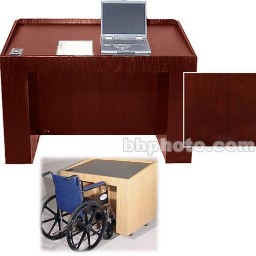 Sound-Craft Systems ADA-2 Lectern (Natural Mahogany) ADA2VM