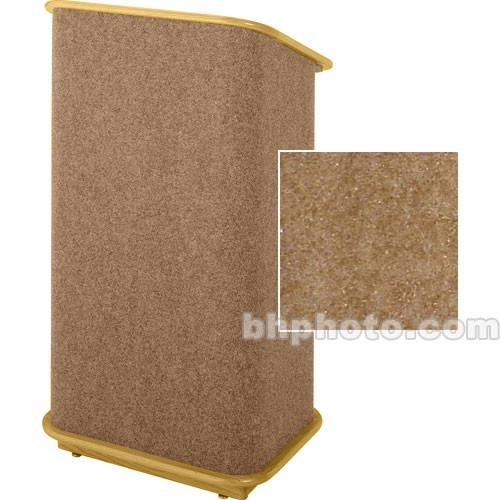 Sound-Craft Systems CFL Floor Lectern (Hunter/Natural Oak) CFLHO